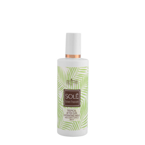Creattiva Solè Tropical After Sun Hydrating Milk Viso Corpo Capelli 300ml - Latte Doposole Idratante