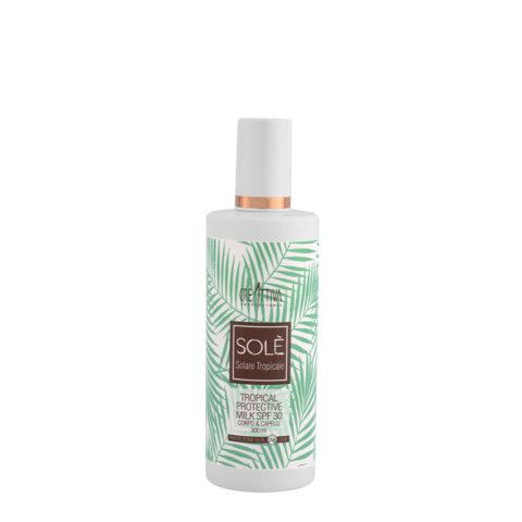 Creattiva Solè Tropical Protective Milk SPF 30 Corpo Capelli 300ml - latte protezione solare