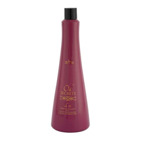 Creattiva Oil Secrets Liss Shampoo Levigante 1000ml - Shampoo Anticrespo