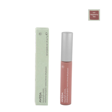 Aveda Nourish Mint Lip Glaze 460 Raspberry Tea 7gr - Lucidalabbra