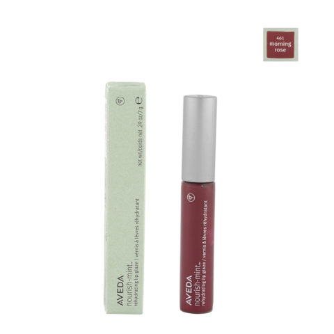 Aveda Nourish Mint Lip Glaze 461 Morning Rose 7gr - Lucidalabbra
