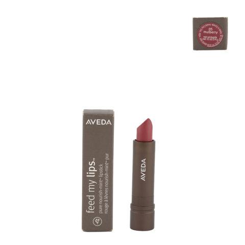 Aveda Feed my lips Pure Nourish Mint Lipstick 3.4gr Mulberry 05 - rossetto rosa leggermente glitterato