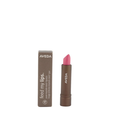 Aveda Feed my lips Pure Nourish Mint Lipstick 3.4gr Guava 08 - rossetto rosa intenso