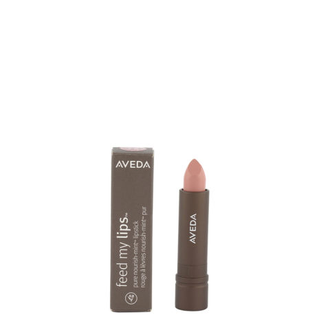 Aveda Feed my lips Pure Nourish Mint Lipstick 3.4gr Rose Jicama 13 - rossetto rosa terra neutro