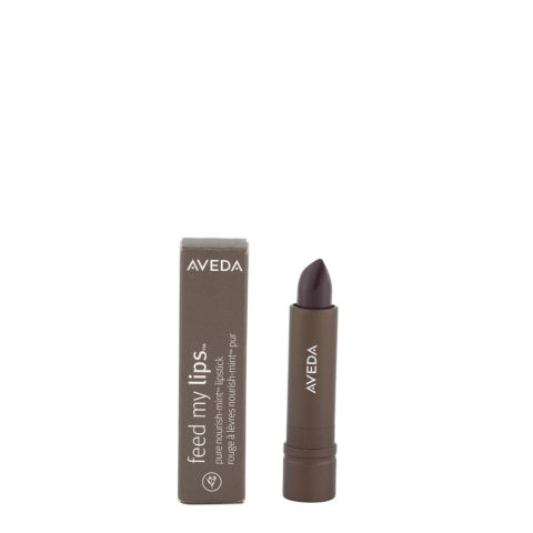 Aveda Feed my lips Pure Nourish Mint Lipstick 3.4gr Acai 19 - rossetto viola intenso