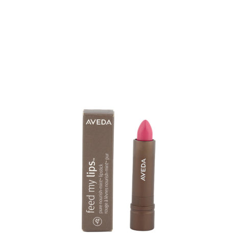 Aveda Feed my lips Pure Nourish Mint Lipstick 3.4gr Prickly Pear 21 - rossetto rosso lampone caldo