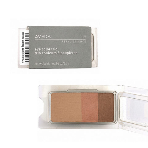 Aveda Petal Essence Eye Color Trio 972 Copper Haze 2.5gr - ombretto