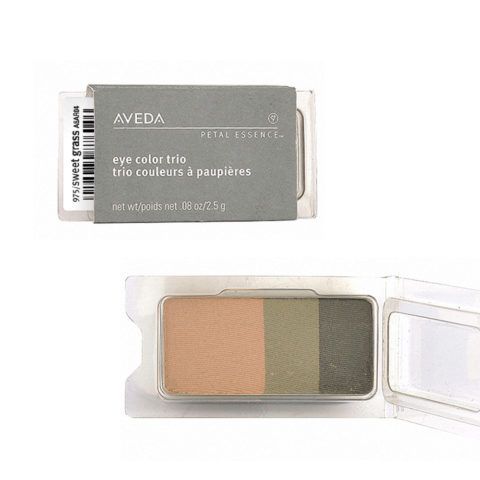 Aveda Petal Essence Eye Color Trio 975 Sweet Grass 2.5gr - ombretto