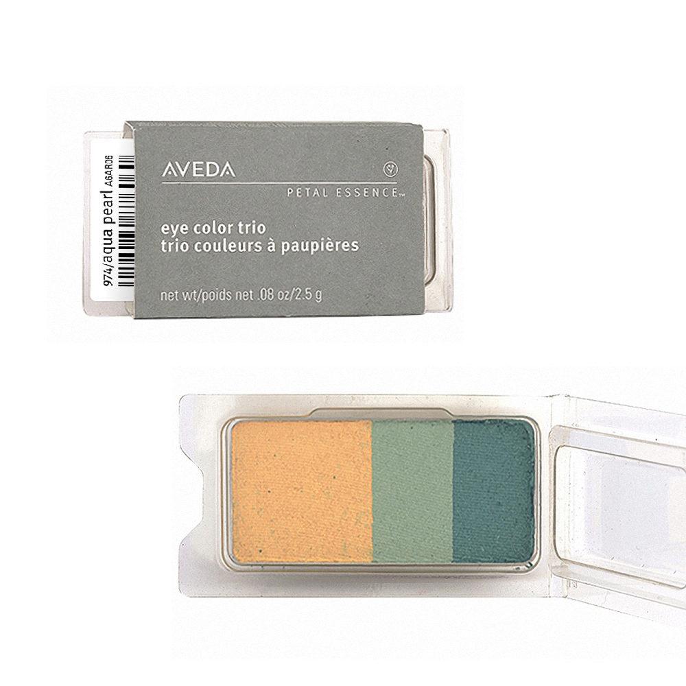 Aveda Petal Essence Eye Color Trio 974 Aqua Pearl 2.5gr - ombretto