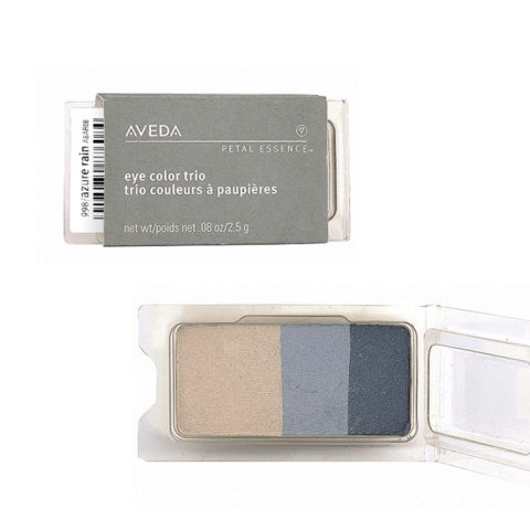 Aveda Petal Essence Eye Color Trio 998 Azure Rain 2.5gr - ombretto