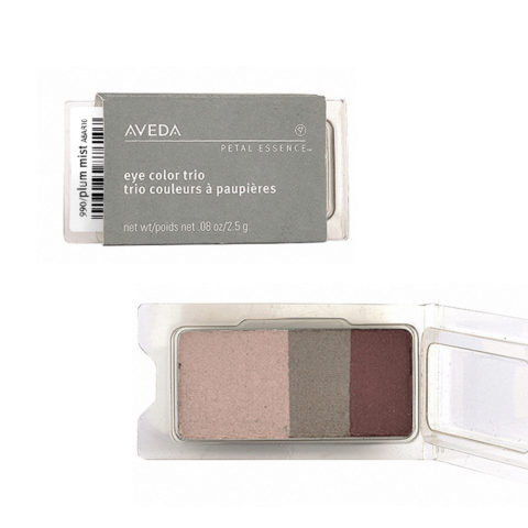 Aveda Petal Essence Eye Color Trio 990 Plum Mist 2.5gr - ombretto