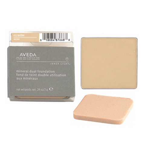 Aveda Mineral Dual Foundation 02 Aster 7gr - fondotinta in polvere