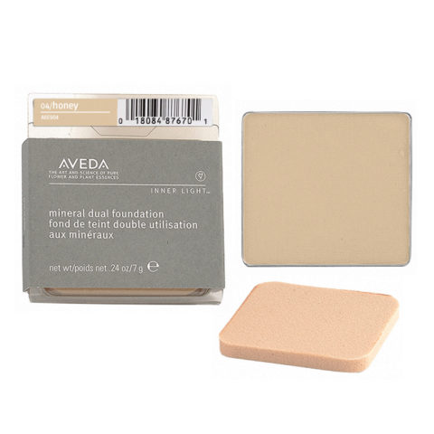 Aveda Mineral Dual Foundation 04 Honey 7gr - fondotinta in polvere
