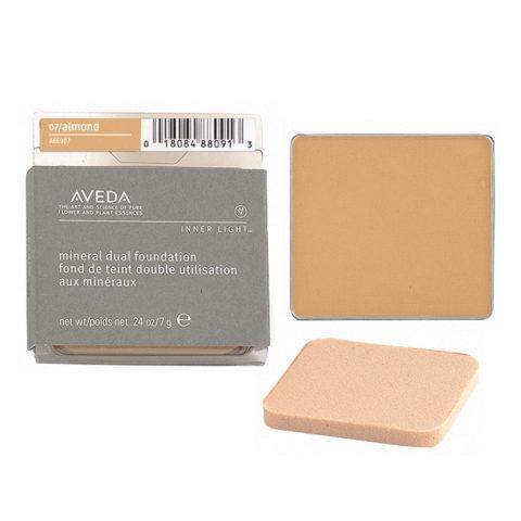 Aveda Mineral Dual Foundation 07 Almond 7gr - fondotinta in polvere