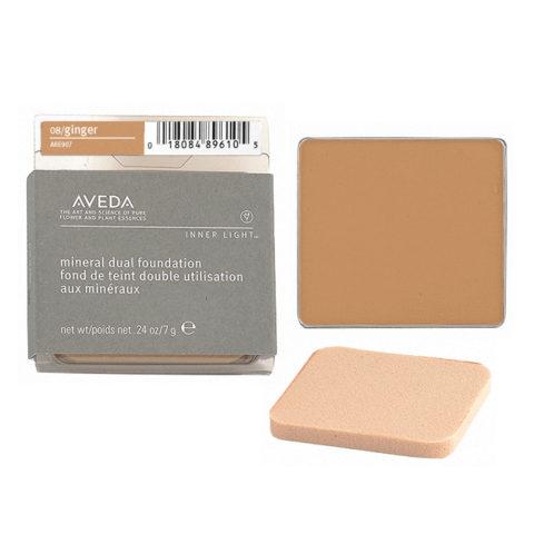 Aveda Mineral Dual Foundation 08 Ginger 7gr - fondotinta in polvere