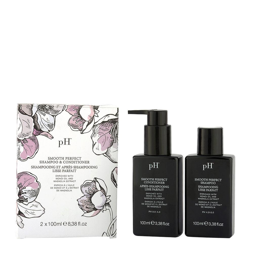 Ph Laboratories Smooth Perfect Travel Kit Shampoo + Conditioner 100ml - shampoo e balsamo da viaggio