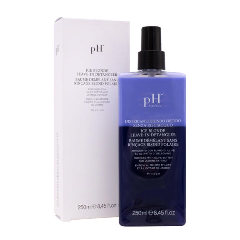 Ph Laboratories Ice Blonde Leave In Detangler 250ml - spray antigiallo idratante