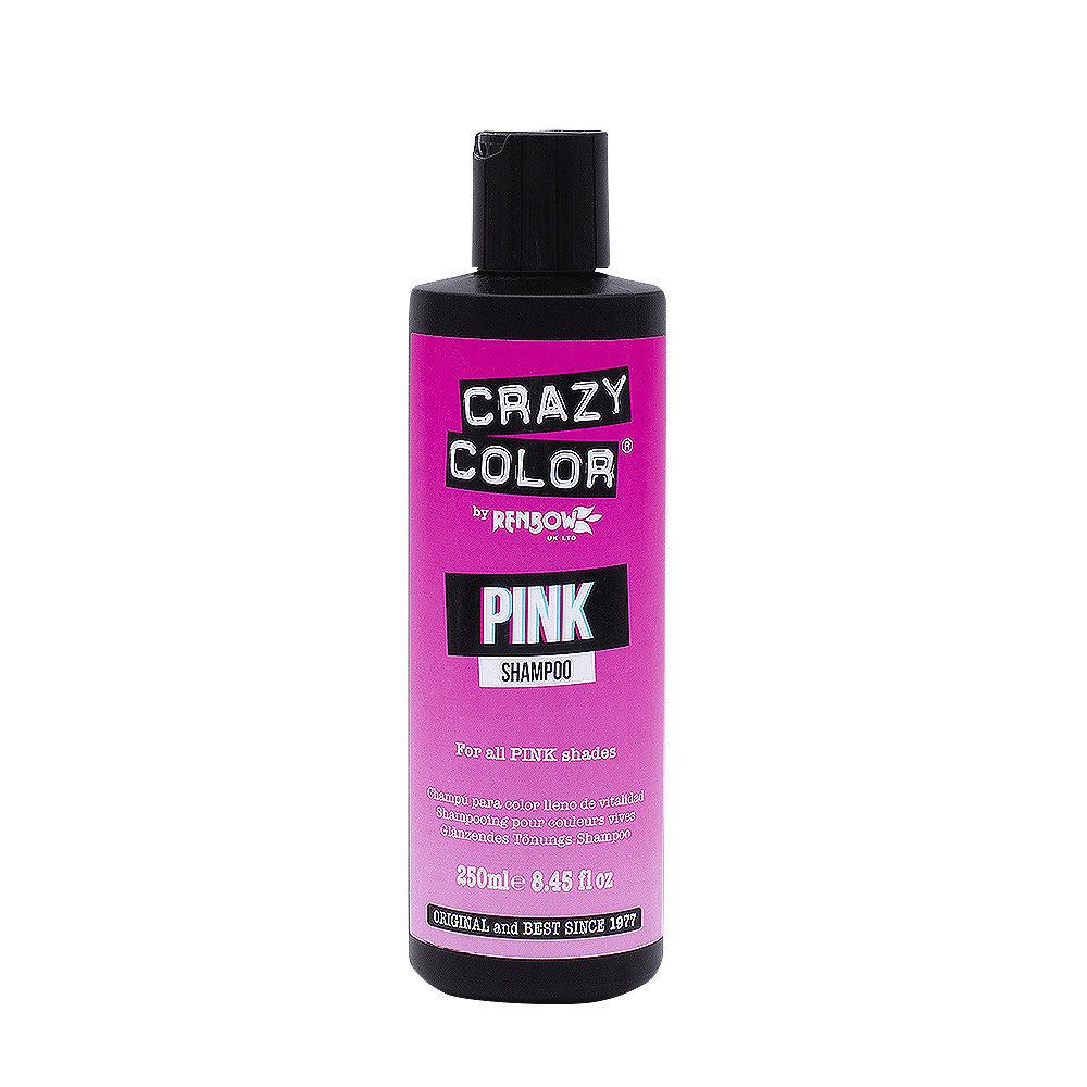Crazy Color Shampoo Pink 250ml Shampoo Per Capelli Rosa