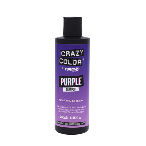 Crazy Color Shampoo Purple 250ml - shampoo per capelli viola