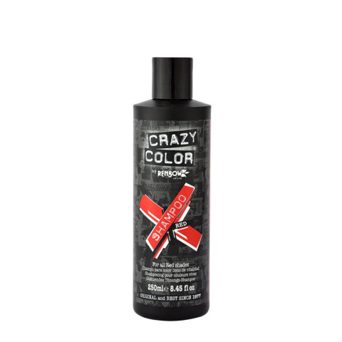 Crazy Color Shampoo Red 250ml - shampoo per capelli rossi