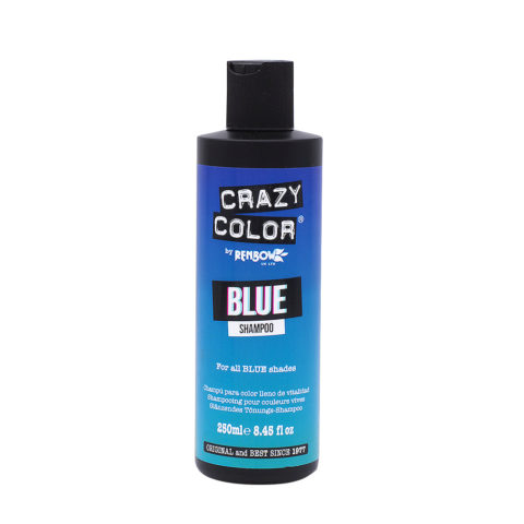 Crazy Color Shampoo Blue 250ml - shampoo per capelli blu