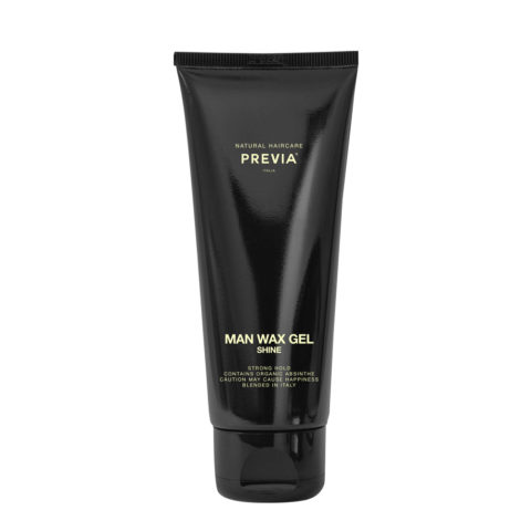 Previa Man Wax Gel Shine 200ml - gel lucido tenuta forte