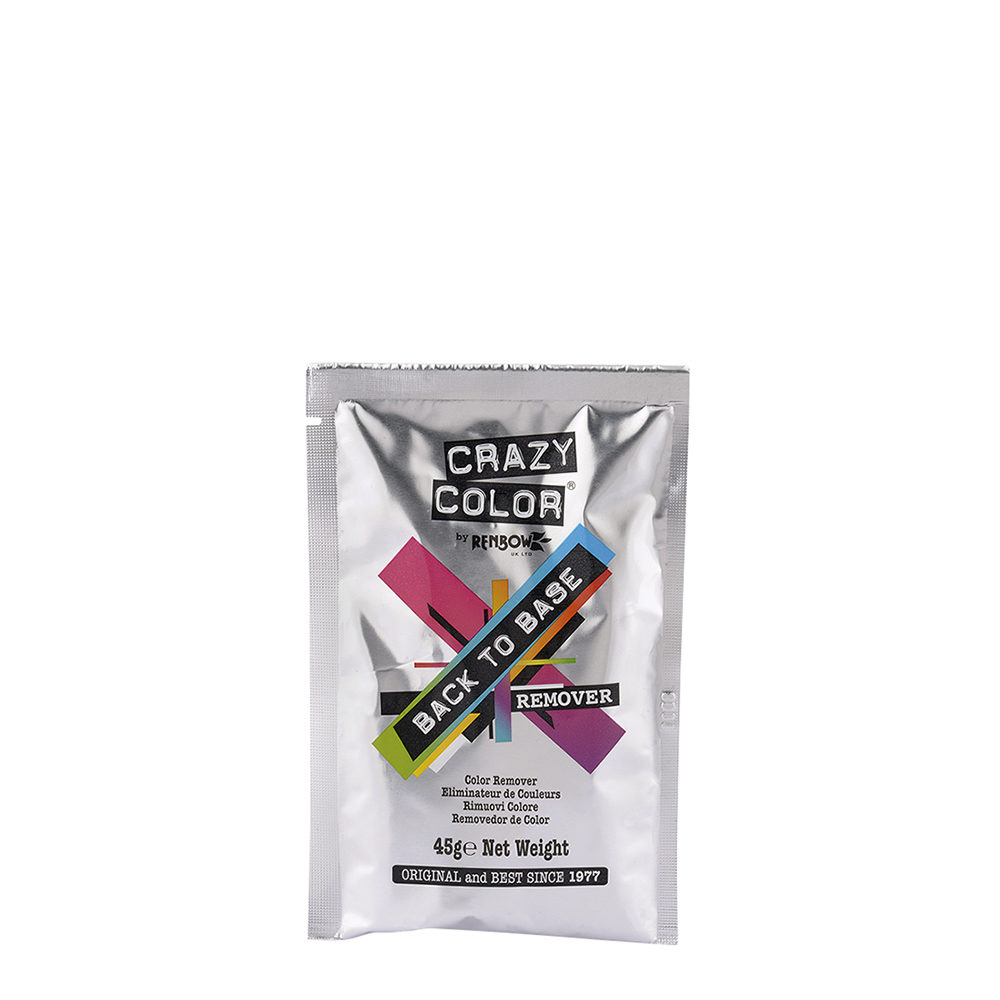 Crazy Color Back to Base Color Remover 45gr - rimuovi colore