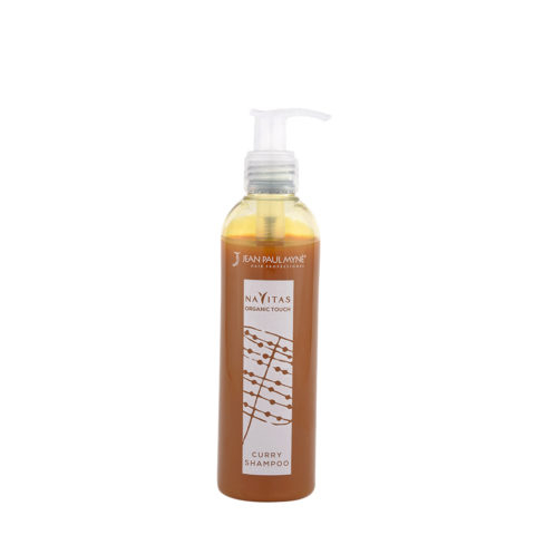 Jean Paul Myne Navitas Organic Touch shampoo Curry 250ml - Shampoo Colorante