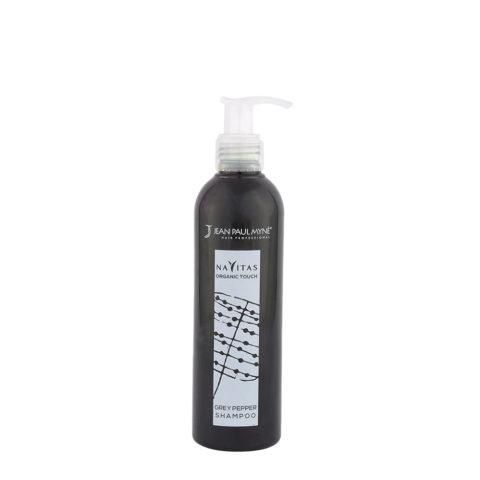 Jean Paul Myne Navitas Organic Touch shampoo Grey Pepper 250ml - Shampoo Colorante