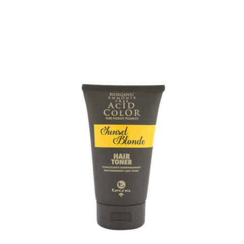 Tecna Hair Toner Sunset Blonde 150ml - Tonalizzante Semipermanente Biondo Caldo