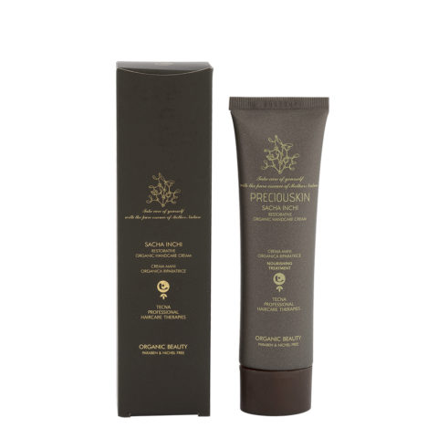 Tecna Preciouskin Sacha Inchi Restorative Organic Handcare Cream 100ml - Crema Mani Naturale