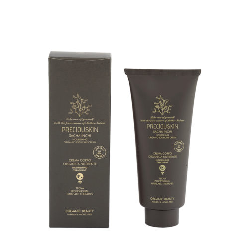 Tecna Preciouskin Sacha Inchi Nourishing Organic Bodycare Cream 200ml - Crema Corpo Naturale