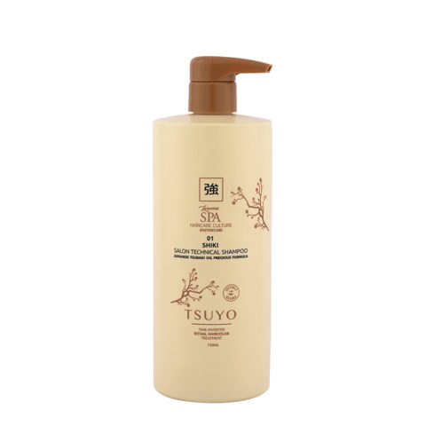 Tecna Tsuyo 01 Shiki Technical Shampoo 750ml - Shampoo Pre Colore