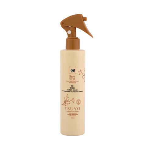Tecna Tsuyo 02 Shiki Sweet Comb 250ml - Trattamento Spray Per Cuticole Pre Colore