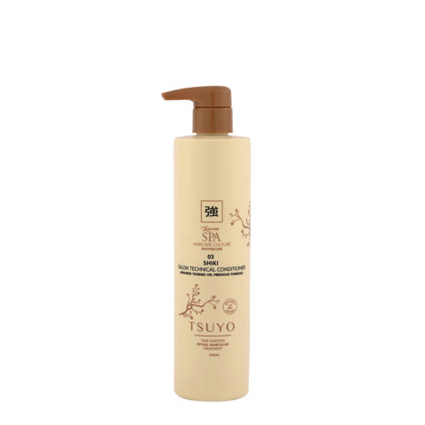 Tecna Tsuyo 03 Shiki Salon Technical Conditioner 500ml - Balsamo Post Colore
