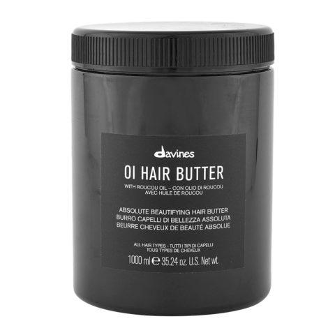 Davines OI Hair Butter 1000ml - burro per capelli profumato idratante