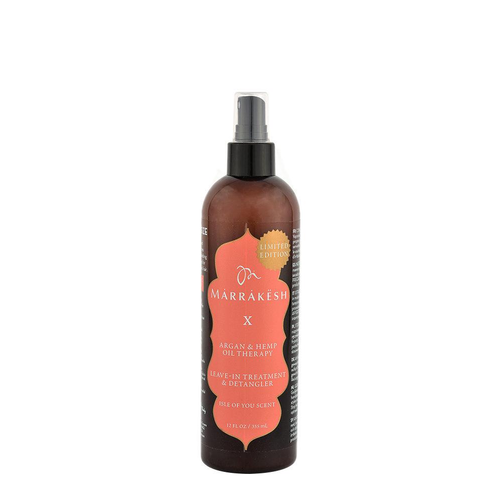 Marrakesh X Leave in treatment and Detangler Isle of You scent 355ml - spray districante idratante