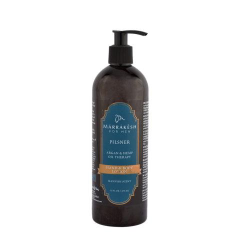 Marrakesh for Men Pilsner Hand & Body lotion 473ml - crema mani e corpo per uomo