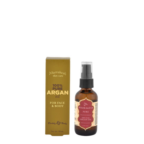 Marrakesh Olio di Argan Puro per viso e corpo 60ml