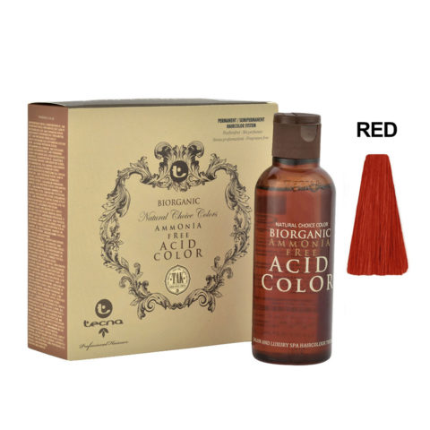 RED Intensificatore rosso Tecna NCC Biorganic acid color 3x130ml