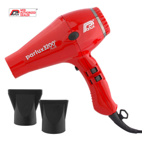 Parlux 3200 Plus - Asciugacapelli Rosso