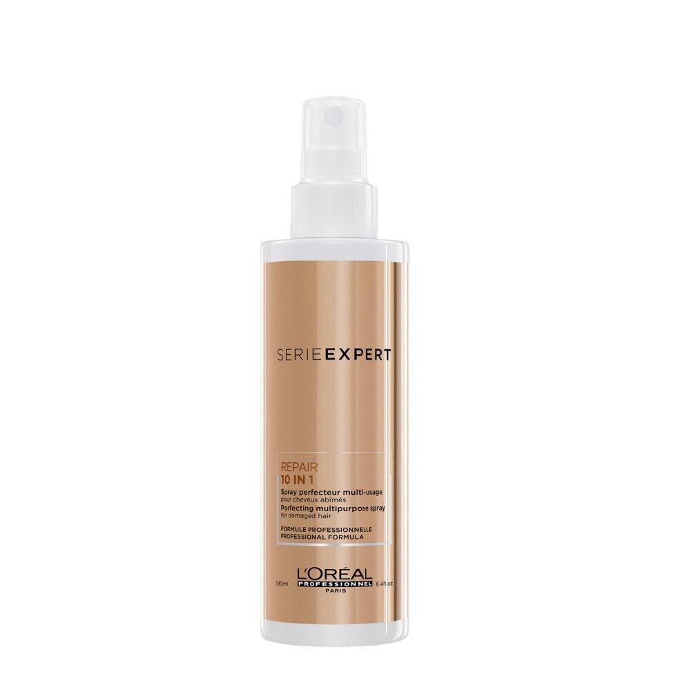 L'Oreal Absolut Repair 10 in 1, 190ml - spray ristrutturante capelli danneggiati