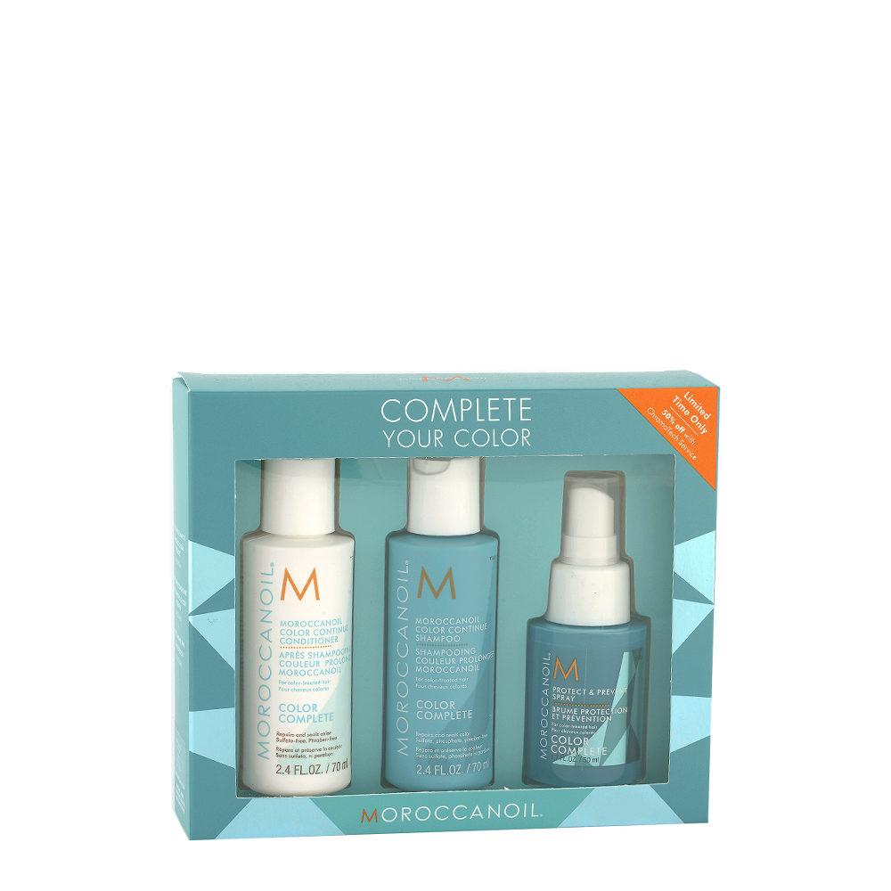 Moroccanoil Color Complete kit da viaggio per capelli colorati