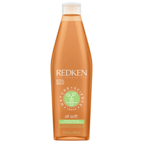 Redken Nature + Science All Soft Softening Shampoo 300ml - shampoo idratante