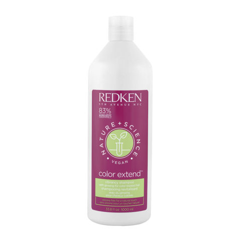 Redken Nature + Science Color Extend Shampoo 1000ml - shampoo capelli colorati