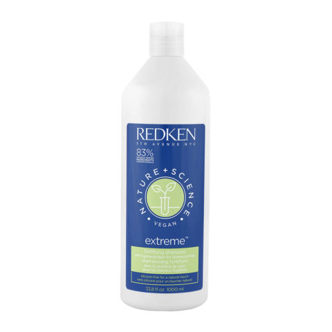 Redken Nature + Science Extreme Shampoo 1000ml - shampoo fortificante