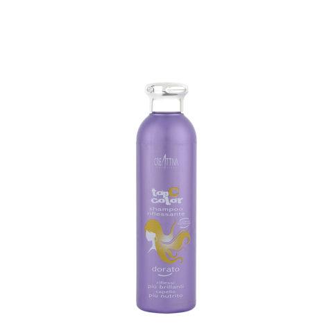 Creattiva Top C Color Dorato 250ml - Shampoo Riflessante