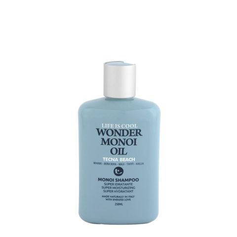 Tecna Wonder Monoi Oil Shampoo 250ml - shampoo solare super idratante