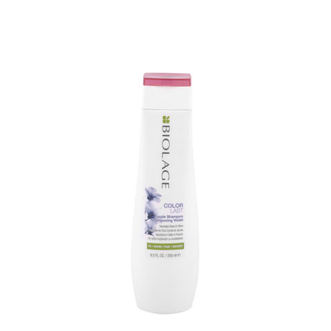 Biolage Colorlast Purple Shampoo 250ml - shampoo antigiallo