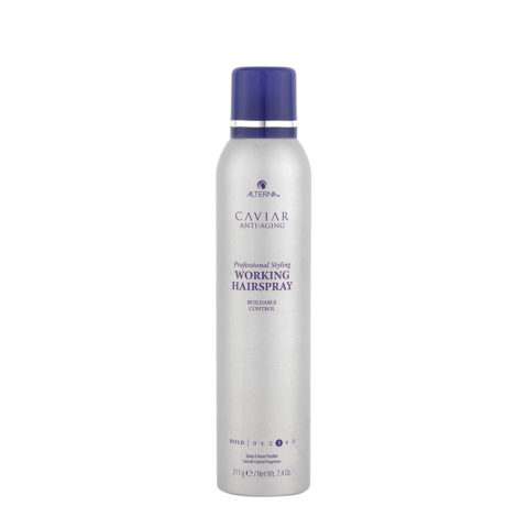 Alterna Caviar Anti aging Styling Working hairspray 211gr - lacca tenuta media